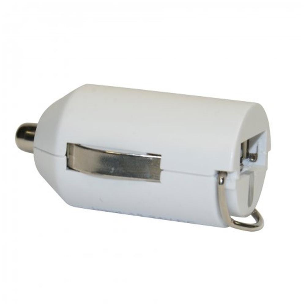 Autonabíječka Fontastic Nano CC121 s USB konektorem, výstup 2,1A, bílá, box