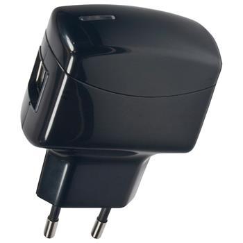 Cestovní nabíječka Fontastic s 2xUSB 2A černá (Blister)