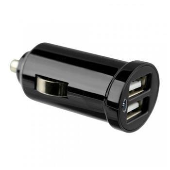 Cl Autonabíječka Fontastic 2 x USB 2,1 A černá (Blister)
