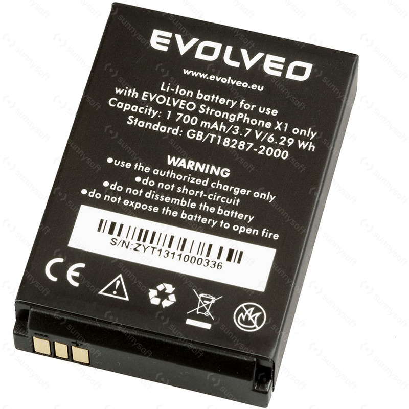 EVOLVEO baterie 1 700 mAh pro StrongPhone X1,RG400