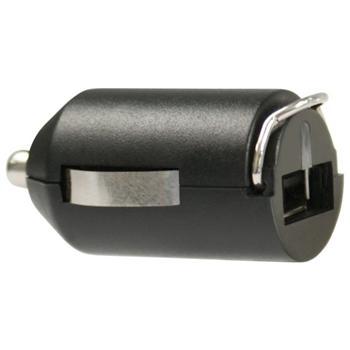 Mini nabíječka do auta Fontastic, s USB, 1A, černá