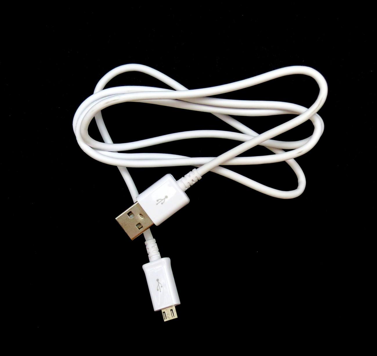 Datový kabel Samsung ECBDU4AWE microUSB bílý (bulk)