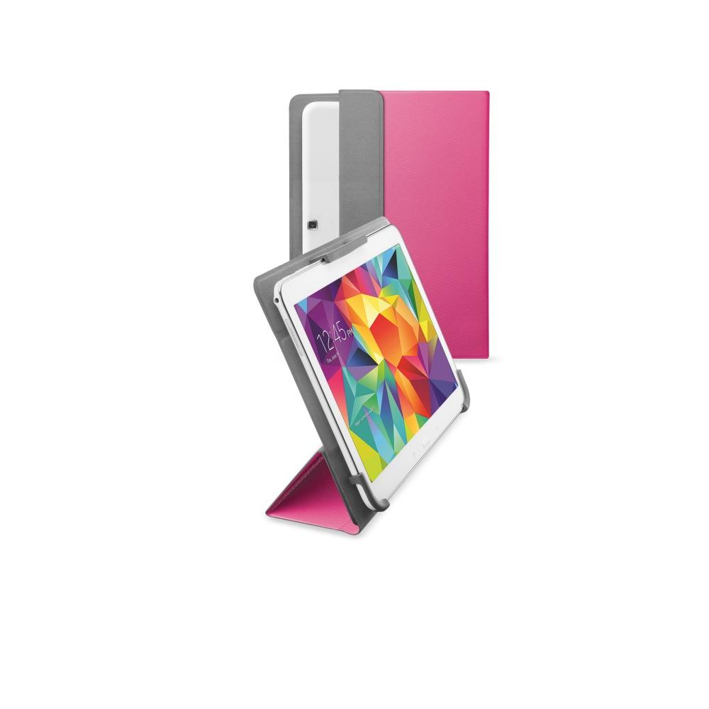 """Pouzdro CellularLine FLEXY pro tablety Samsung do velikosti 10,5"""" růžové"""