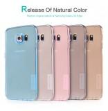 Silikonové pouzdro Nillkin Nature na Samsung Galaxy S6 Edge (G925) čiré