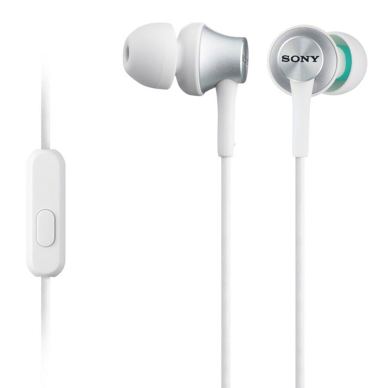 Handsfree sluchátka SONY MDR-EX450AP bílé