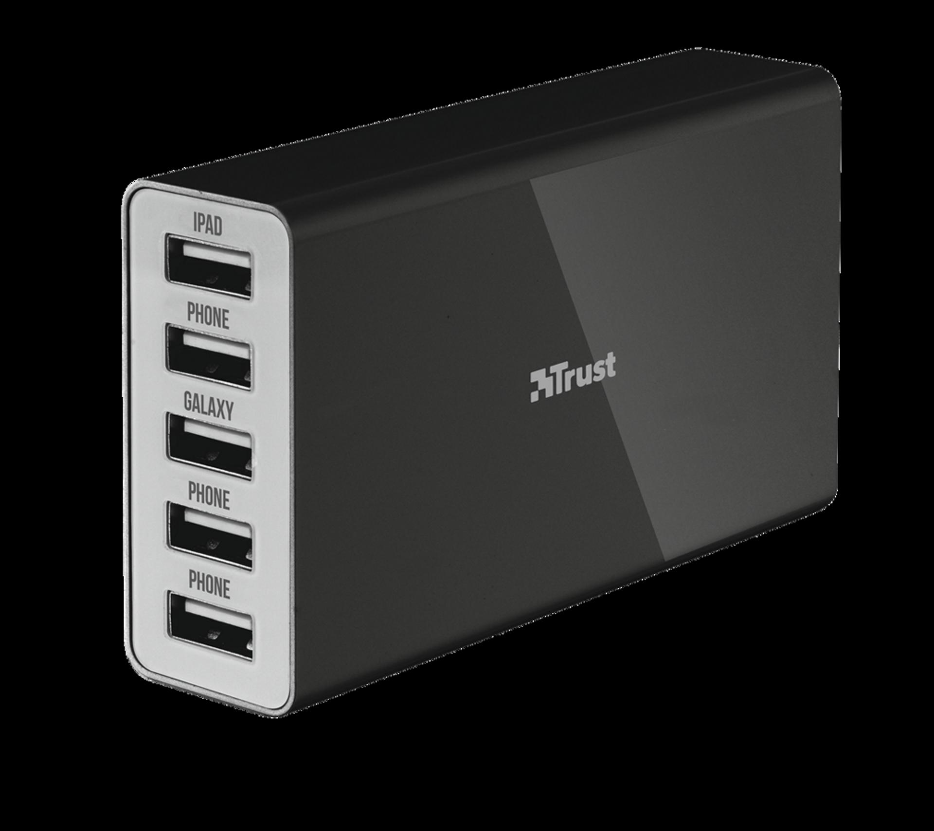 nabíječka TRUST Wall Charger 5 USB ports