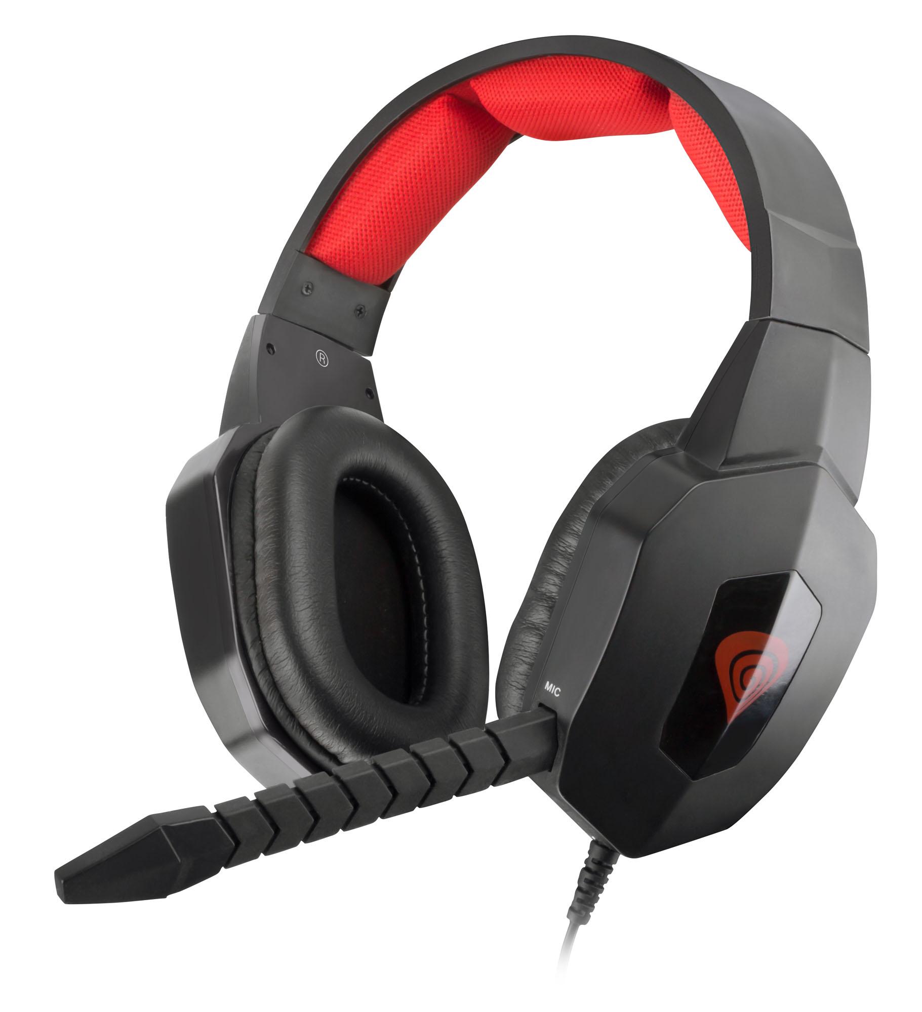 Multiplatformní herní stereo sluchátka Genesis H59