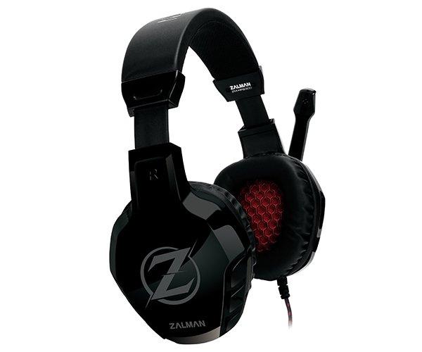 Herní sluchátka Zalman ZM-HPS300 50mm černé