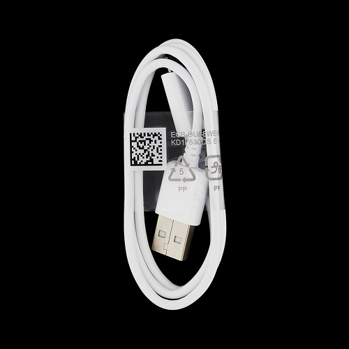 Datový kabel Samsung ECBDU68WE microUSB bílý 0,8m (bulk)
