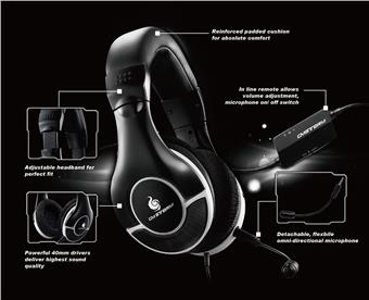 Herní sluchátka CM STORM CERES-300 černé
