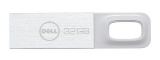USB Flash disk Dell 32GB bílý