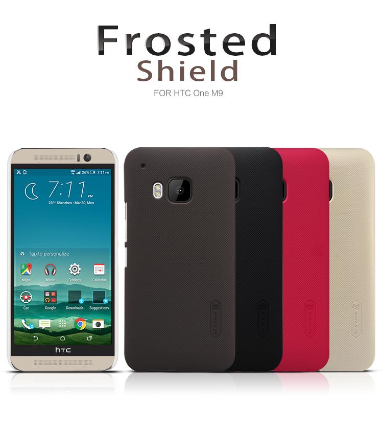 Zadní kryt pro HTC ONE M9, Nillkin Super Frosted bílý