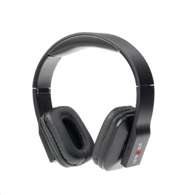 Sluchátka Gembird Bluetooth skládací černé