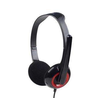 Sluchátka Gembird s mikrofonem MHS-002 černé