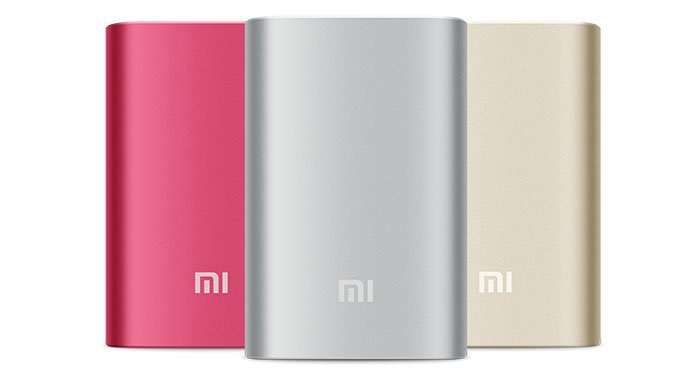 Power bank Xiaomi NDY-02-AN 10000mAh červená