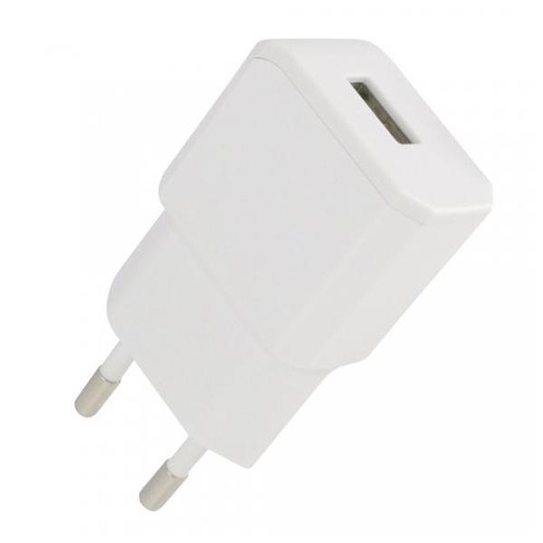 Cestovní nabíječka Fontastic NANO USB, 2A, bílá, box