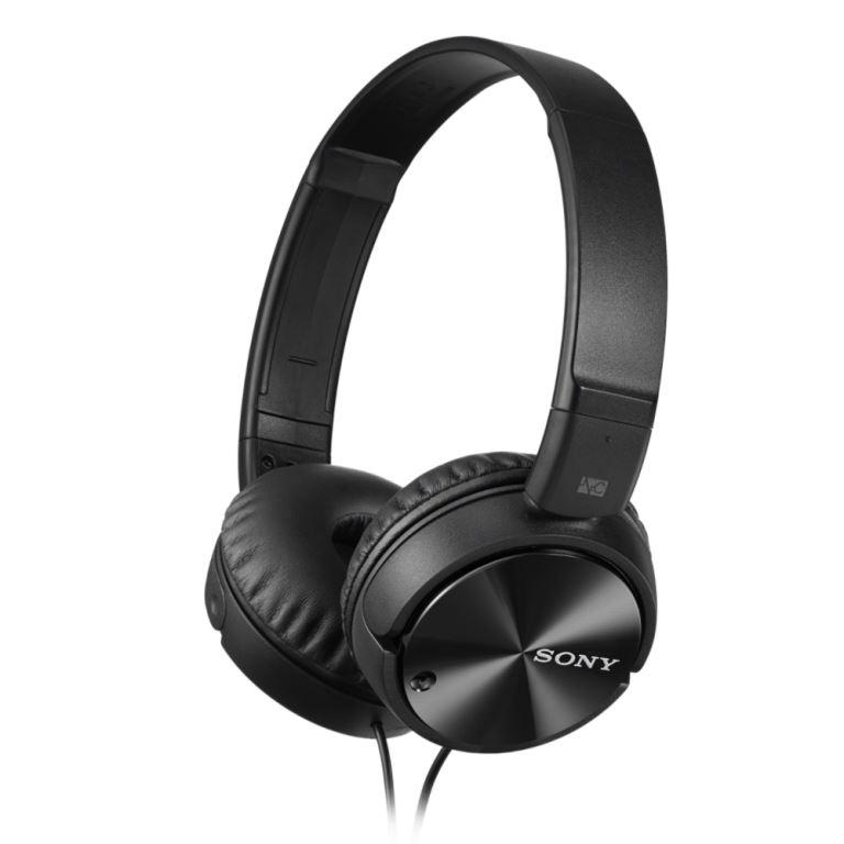 Sluchátka SONY MDR-ZX110 s Noise canceling černé