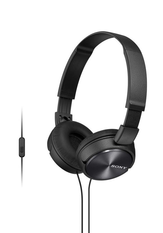 Sluchátka SONY MDR-ZX310AP handsfree černé