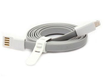 Datový kabel Remax pro iPhone 5/5S/Ipad AIR/mini 1,2m šedý