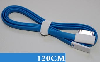 Datový kabel Remax pro iPhone 4/4S/iPad/mini 1,2m modrý