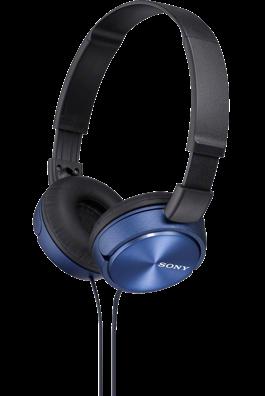Sluchátka SONY MDR-ZX310 modré
