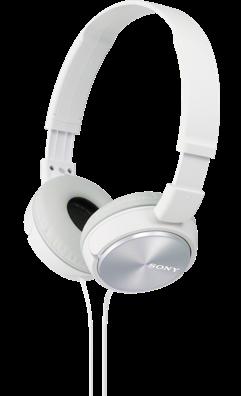 Sluchátka SONY MDR-ZX310 bílé