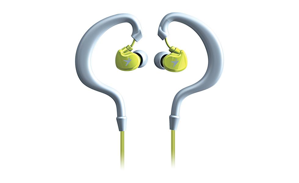 Sportovní sluchátka Genius HS-M270 zelené