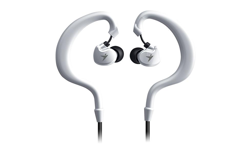 Sportovní sluchátka Genius HS-M270 bílé