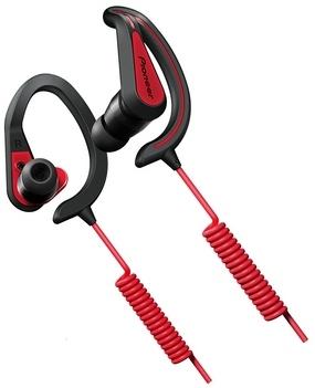 Sportovní závěsná sluchátka Pioneer černočervená