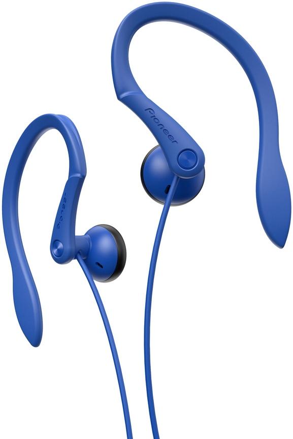 Sportovní závěsná sluchátka Pioneer modré