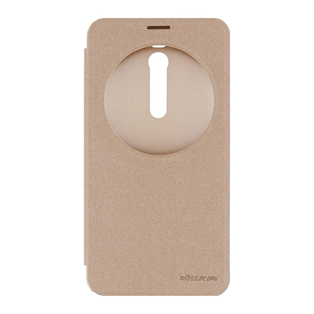 Flipové pouzdro Nillkin Sparkle S-View pro ASUS Zenfone 2 ZE551ML zlaté