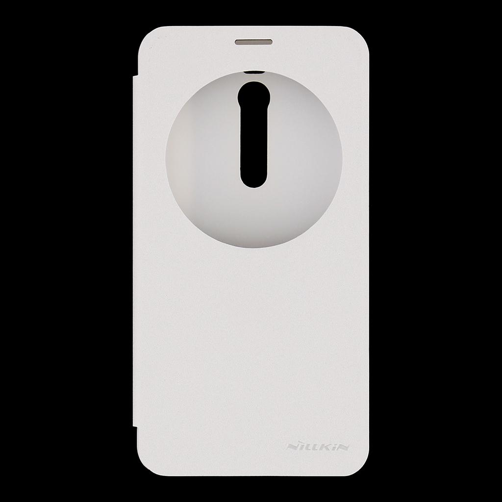 Flipové pouzdro Nillkin Sparkle S-View pro ASUS Zenfone 2 ZE551ML bílé