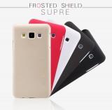 Nillkin Super Frosted zadní kryt pro Samsung Galaxy A7 zlatý