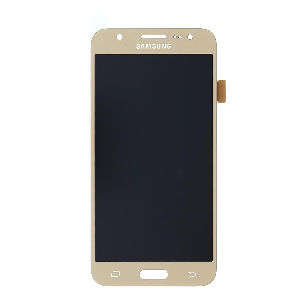 LCD display + dotyková deska pro Samsung J500 Galaxy J5, gold