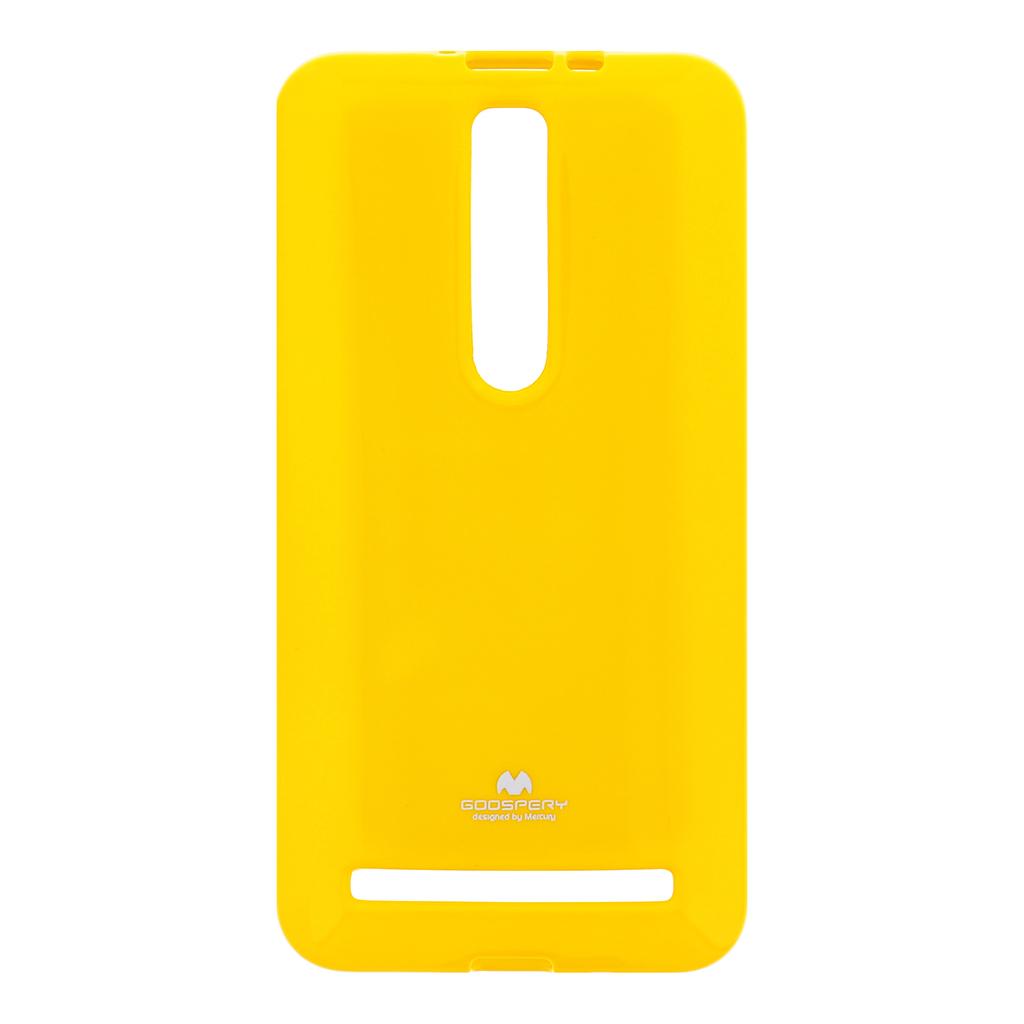 Silikonové pouzdro ASUS ZenFone 2 ZE551 Mercury Jelly žluté