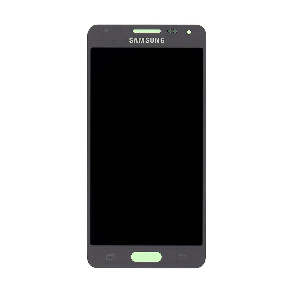 LCD + dotyková deska Samsung Galaxy Alpha silver