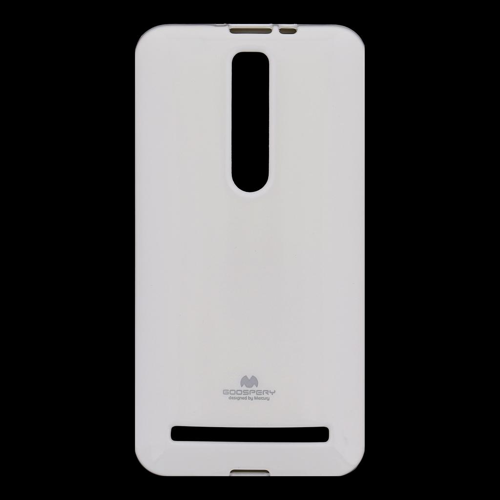 Silikonové pouzdro na ASUS ZenFone 2 ZE551 Mercury Jelly bílé