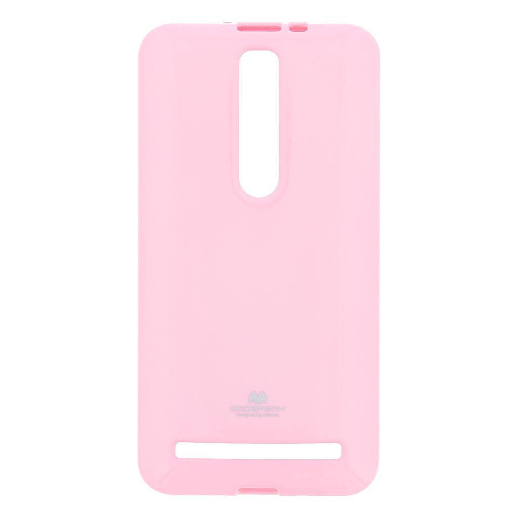 Pouzdro ASUS ZenFone 2 ZE551 Mercury Jelly světle růžové