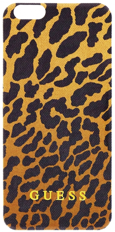 Silikonové pouzdro na Samsung Galaxy S6 Guess GUHCS6LEORE leopard
