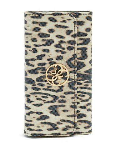 Dámské pouzdro na mobil iPhone 6 Plus Guess GUFLBKP6SPCH leopard