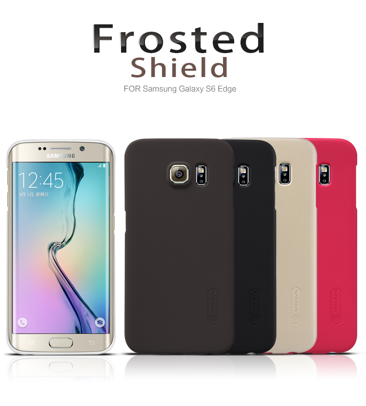 Zadní kryt pro Samsung Galaxy S6 Edge (G925), Nillkin Super Frosted zlatý