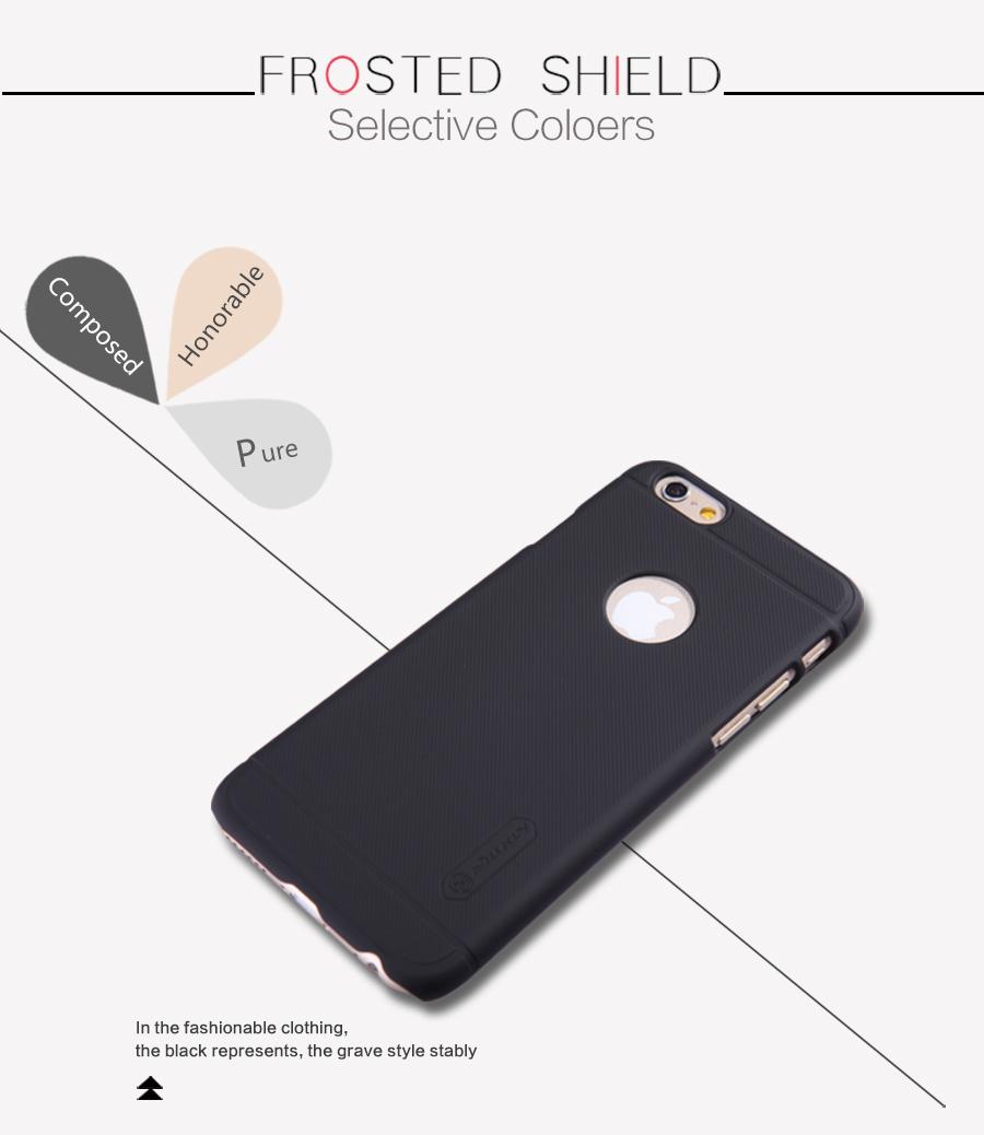 """Zadní kryt pro iPhone 6 Plus 5,5"""",Nillkin Super Frosted černý"""