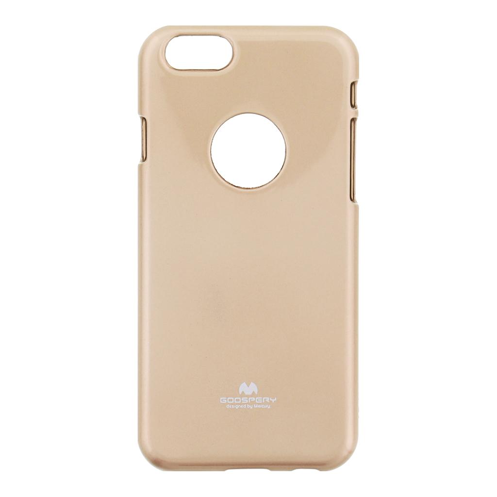 "Pouzdro silikonové Mercury Jelly Apple iPhone 6 (4.7"") zlaté"