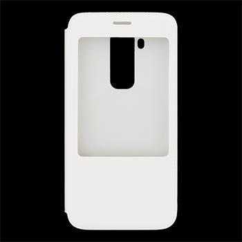 Originalní pouzdro na Huawei G8 S-View bílé