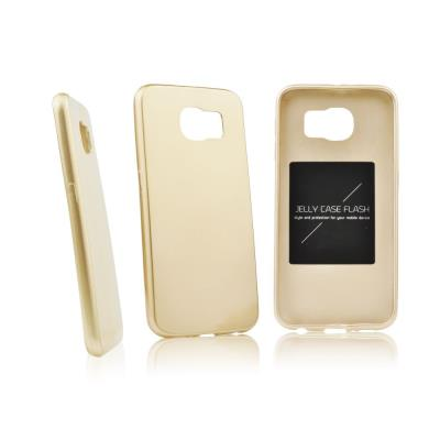 Pouzdro Mercury Jelly Case Flash na Huawei P8 Lite, gold