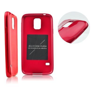 Pouzdro Mercury Jelly Case Flash na Huawei P8 Lite červené