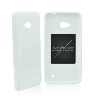 Pouzdro Mercury Jelly Case Flash na Huawei P8 Lite bílé