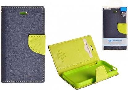 Flipové pouzdro pro Lenovo A536 Fancy Diary modré/limetkové