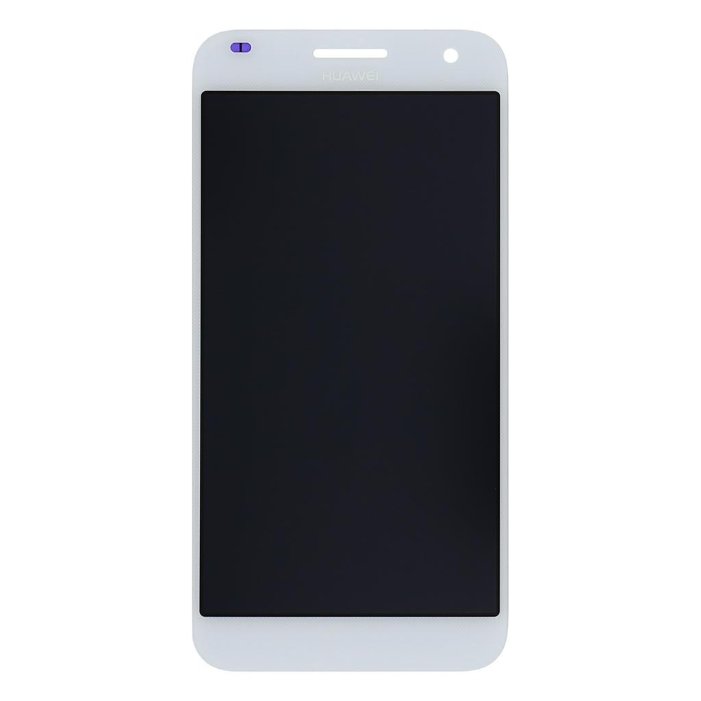LCD Display + dotyková deska pro Huawei Ascend G7, bílá