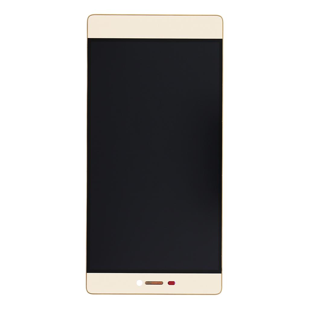 LCD + dotyková deska + přední kryt Gold pro Huawei Ascend P8 - originál